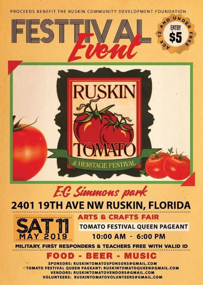 2019 Ruskin Tomato Festival | Kids Out and About Tampa